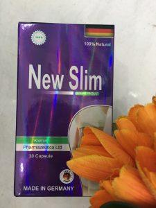 Viên giảm cân NEW SLIM Đức hộp 30 viên mua ở đâu, giá bán bao nhiêu ?