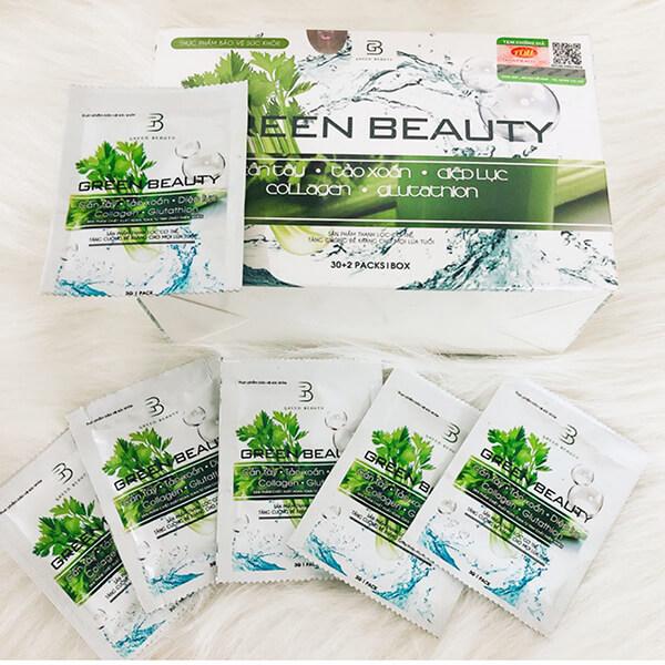 nước ép cần tây green beauty