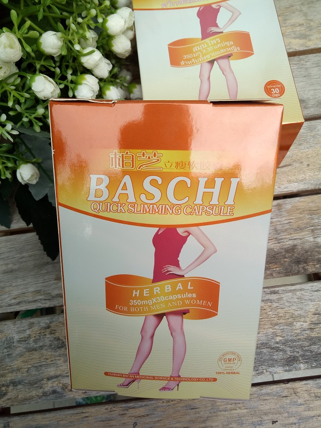 Viên giảm cân Baschi Thái Lan có các mẫu nào?