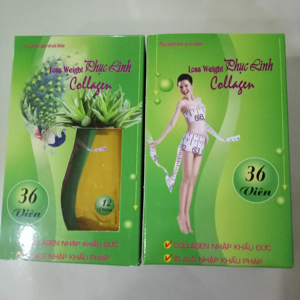 lose weight phục linh collagen