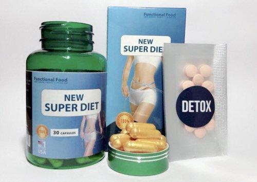 gói detox bên trong new super diet