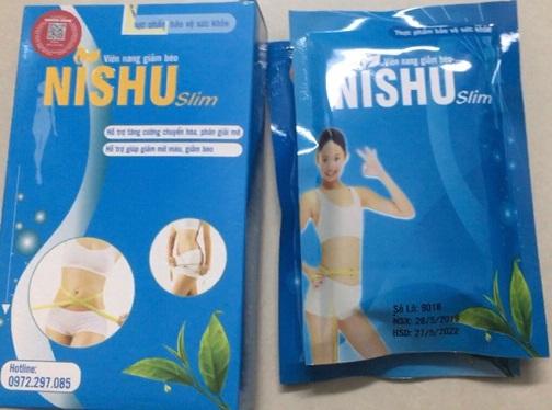 thuốc giảm cân nishu giảm cân cấp tốc